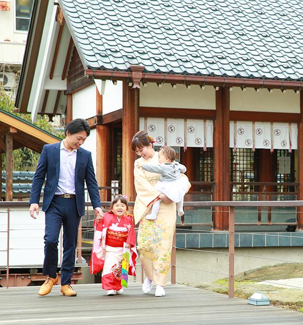 お宮参り(ロケーション)