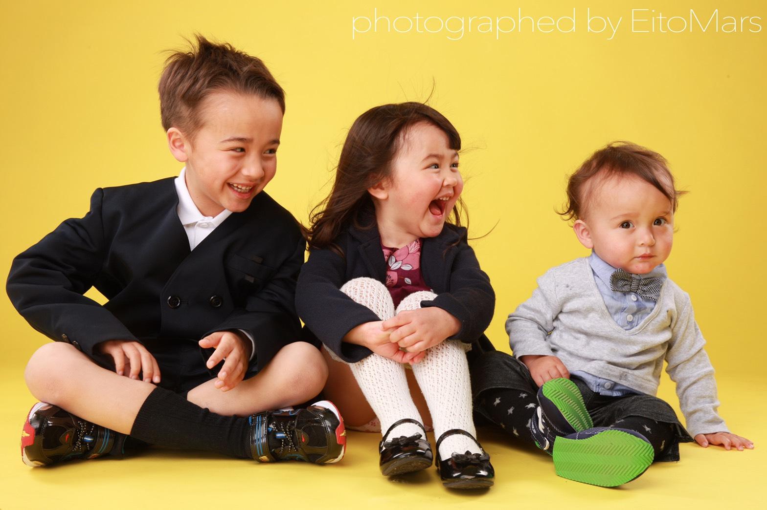 子供の写真・家族写真のスタジオは東京のハーツス …